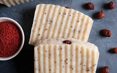 Lingonberry Rebatch Soap