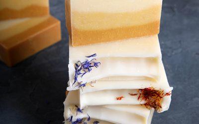 Turmeric Ombre Cold Process Soap